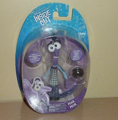 Disney Pixar ~ Inside Out Movie Figure by Tomy ~ Fear
