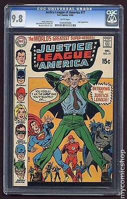 Justice League of America (1960 1st Series) #77 CGC 9.8 (1039397009)