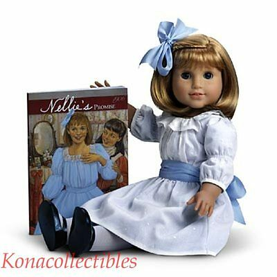 """American Girl Nellie 18"""" Doll & Book New! Pleasant Co LAST ONE! SALE!"""
