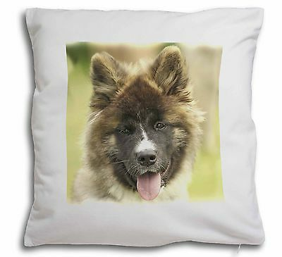 Beautiful Akita Dog Soft Velvet Feel Cushion Cover With Inner Pillow, AD-A4-CPW