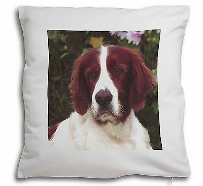 English Setter Dog Soft Velvet Feel Cushion Cover With Inner Pillow, AD-RWS1-CPW