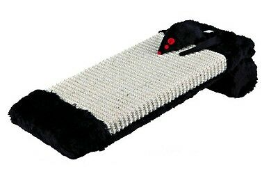 New Trixie Cat Scratching Board on a Roll - Scratcher With Toy 4303