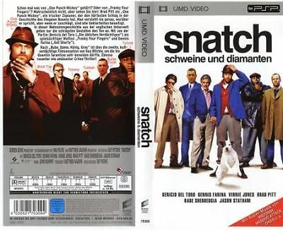 Snatch Schweine und Diamanten / Sony Playstation Portable PSP UMD Video