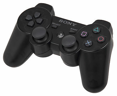 JOYPAD PER SONY PLAYSTATION 3 Dualshock 3 Nero PS3 SIXAXIS WIRELESS CONTROLLER