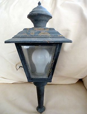 Vintage Outdoor Porch Sconce Lantern Moe Light Mid Century Carriage Light Tudor