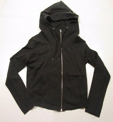 4feec4e5704d CONVERSE ALL STAR Women s Black Funnel Neck Full Zip Hoodie -  24.99 ...