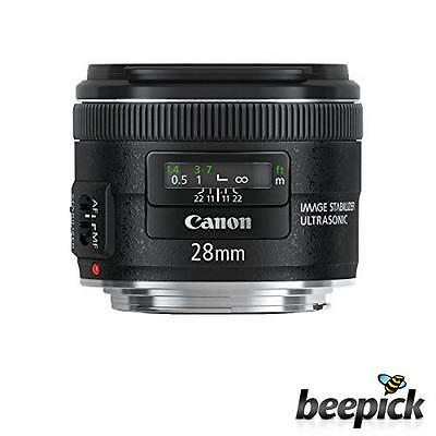 Canon EF 28mm f/2.8 IS USM - Objetivo para Canon ,distancia focal fija 28m #5746