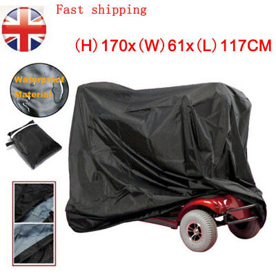Large Waterproof Mobility Scooter Storage Rain Cover Motorcycle Protector UK