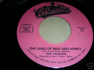 Vogues - Land Of Milk & Honey / True Lovers