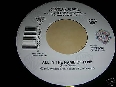 Atlantic Starr-Always / All In The Name Of Love
