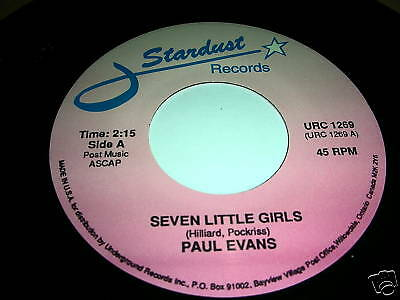 Paul Evans-Seven Little Girls / Midnight Special