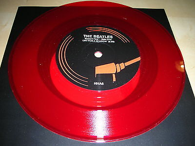 The Beatles - Cry For A Shadow / Why...red Vinyl - Mint !