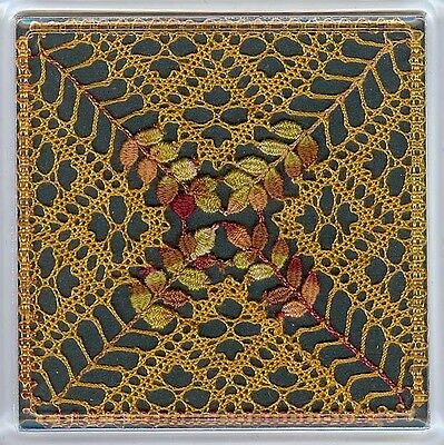 Autumn Coaster Torchon Bobbin Lace Pattern Lacemaking *PATTERN ONLY*