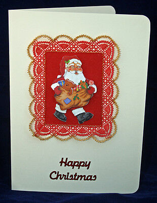 Christmas Border Torchon Bobbin Lace Pattern Lacemaking *PATTERN ONLY*
