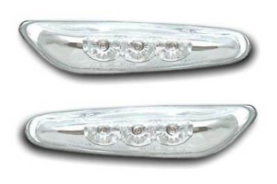 For BMW 3 Series E91 3/2005 - > Crystal Clear Side Repeaters Indicators 1 Pair