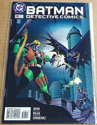Dc Comics; Batman Detective Comics #708  New/unread High Grade Nm 1997