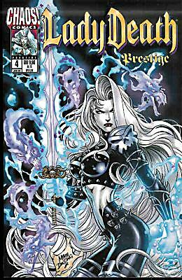 CHAOS - Comic - Lady Death - Prestige Nr. 4 deut. + TOP