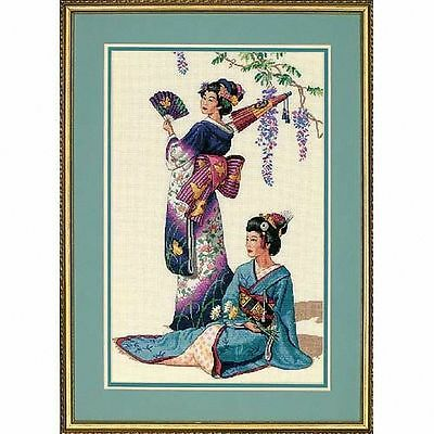 Counted Gold Cross Stitch Kit - Jewels of the Orient - D03898 DIMENSIONS