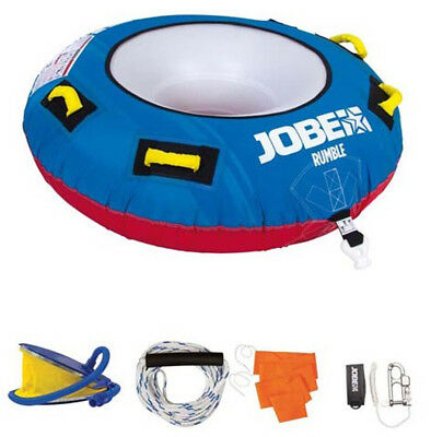 Jobe Rumble Package 1 Person Rider Inflatable Towable Tube Ringo Rrp £99.95