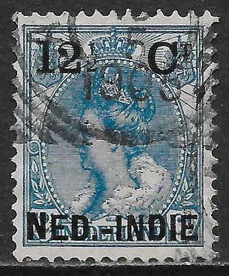 Netherlands Indies stamps 1900 NVPH 32f FotoAttest Muis  CANC  VF