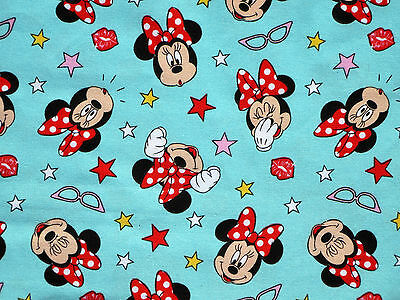 Disney Mickey Minnie Mouse Ahoy Nautical Boat Cotton Fabric CP65222 By The Yard