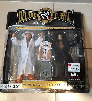 Wwe Undertaker & Michaels Classic Figures - Limited Edition - Heaven & Hell Wwf