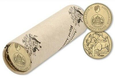 2016 Australia Decimal Currency 50th Anniversary - $1 RAM Coin Roll