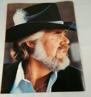 KENNY ROGERS! - 1981, Greatest Hits, Concert Tour Program Book, Pre-Owned