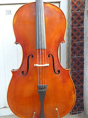 Best Cello 4/4 antique old style 100 years old spruce top 1pc flamed maple back