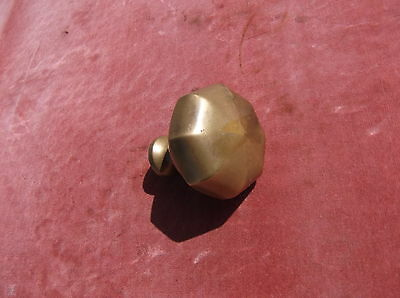 Antique Brass Door Pull / Octagonal Door Knob / Brass Handle /antique Brass Pull