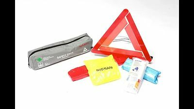 Genuine Nissan Car Emergency Breakdown Safety Equipment Kit/Pack. ZGKE93000032