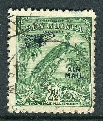 PAPUA NEW GUINEA;  1932 Bird of Paradise AIR issue fine used 2.5d. value