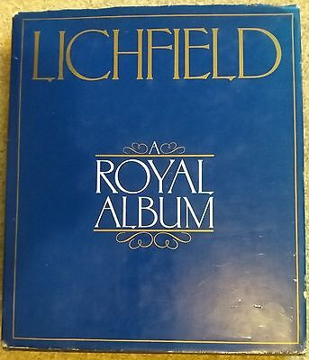 Lord Litchfield Authentic Hand Signed Royal Album Hardback Book AFTAL COA
