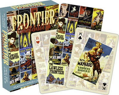 Frontier Classics Movie Poster Images Illustrated Playing Cards, NEW SEALED