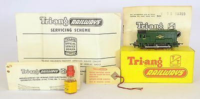 TRIANG TT T95 08 SHUNTER Nr MINT BOXED FAB RUNNER UNOPENED OIL & PAPERWORK