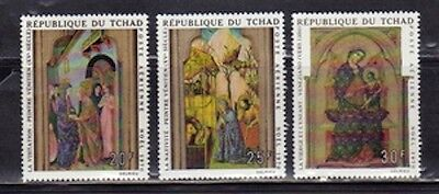 Chad C71-3 Religious Paintings Mint NH