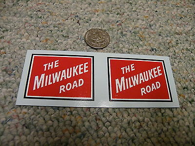 Herald King decals G Gauge The Milwaukee Road 3' x 4.25' heralds     XX158