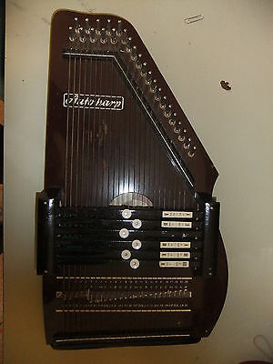 Autoharp 24 string 26x47cm MUSIMA Germany nice usable condition