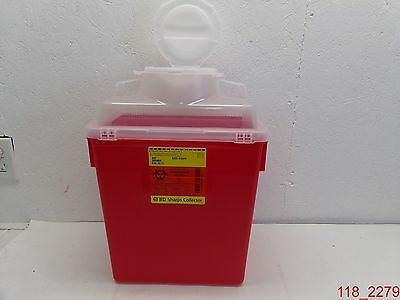 Qty=6 BD Sharps Container Collector 6 Gal. Ref #305465