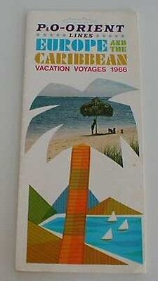 P & O Lines BROCHURE with PHOTOS