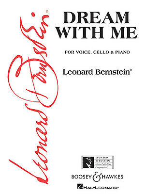 Dream with Me Song from Peter Pan Musical Vocal Cello & Piano Sheet Music NEW