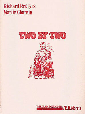 Two by Two Richard Rodgers Musical Complete Vocal Score Piano Sheet Music NEW