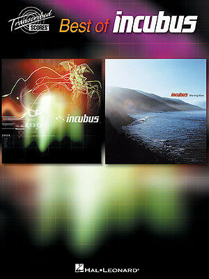 BEST OF INCUBUS Guitar Tab Bass Drum Vocal Sheet Music 8 Rock Songs Book NEW