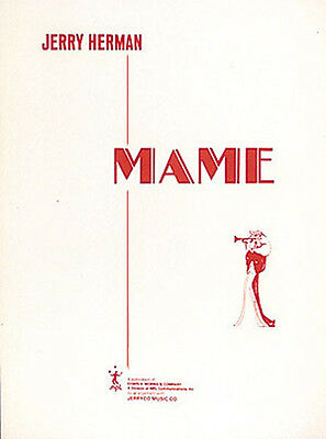 Mame Jerry Herman Broadway Musical Vocal Score Piano Sheet Music Song Book NEW
