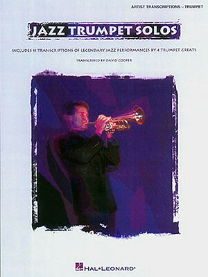 Jazz Trumpet Solos Chet Baker Woody Shaw Freddie Hubbard Sheet Music Book NEW