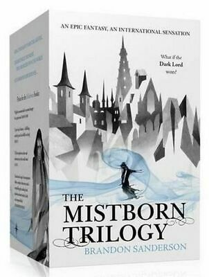 NEW The Mistborn Trilogy By Brandon Sanderson Boxed, Slipcased or Casebound