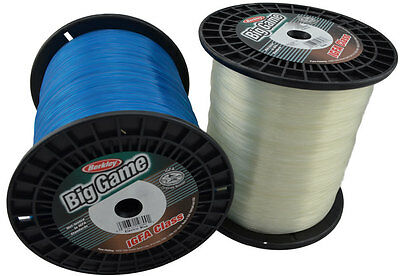 Berkley Big Game Fishing Line - IGFA 10kg in Blue, Clear (White)