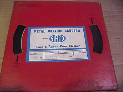 "Sirco/Weka 100 Foot Coil 1/8"" x 32 TPI Carbon Band Saw Blade Stock"