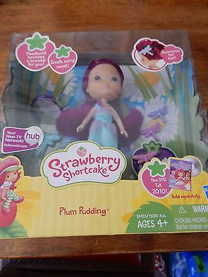2010 Strawberry Shortcake Plum Pudding NEW Great Christmas Present