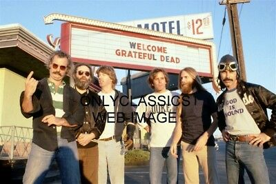 The Grateful Dead American Rock Band Photo Deadheads Hippie Movement Garcia Weir